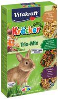 Vitakraft Kracker 3Szt D/królika Popcor/warzy/orze