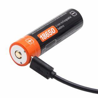 Akumulator bateria 18650 USB 2600 mAh 9,62Wh 3,7v litowy gwarancja