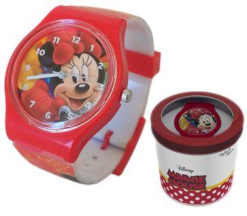 Zegarek dziecięcy Minnie Mouse Licencja Disney (50579 Red)