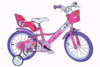 Włoski rower rowerek dla dziewczynki 16 Unicorn Jednorożec 16 cali