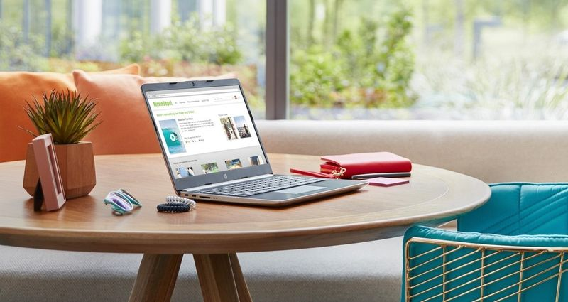 Laptop HP 14 Intel Celeron N4000 2.6GHz Dual-core 4GB DDR4 64GB SSD Windows 10 S zdjęcie 8