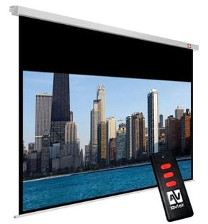 AVTek Ekran elektryczny Cinema Electric 270, 16:9, 270x220 cm, powierzchnia biała, matowa