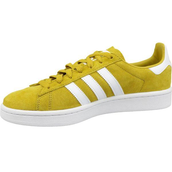 Buty sportowe męskie Adidas Campus żółte CM8444
