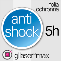 Folia Ochronna Gllaser MAX Anti-Shock 5H do Garmin Fenix 5