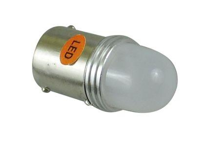 żarówka LED ba15s Cree UHP matowa P21W R10W P5W 12v 24v pomarańczowa