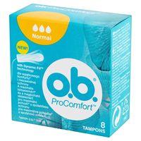 Tampony O.B. ProComfort NORMAL SilkTouch 8 sztuk