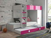 Antresola łóżko piętrowe TOLEDO 2  - meble młodzieżowe