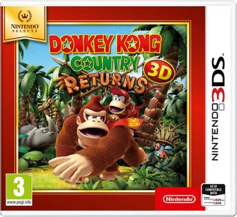 Donkey Kong Country Returns Select - 3DS