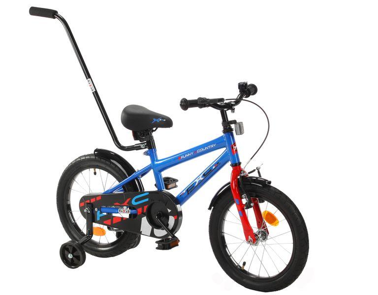 16 cali Rower dla dzieci  FXC Boy Rowerek + GRATIS Prowadnik zdjęcie 3