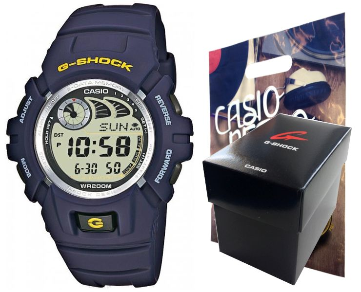 Zegarek Casio G-SHOCK G-2900F-2VER 20BAR hologram zdjęcie 1