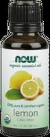 Olejek cytrynowy (Certified Organic) 30ml Nowfoods