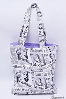 Torba na zakupy bawełniana shopperka eko torba zakupowa Marilyn Monroe