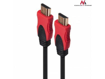 Kabel HDMI Maclean MCTV-708 HDMI 2.0 (M) - HDMI 2.0 (M) 5m V2.0 30AWG 4K 60Hz