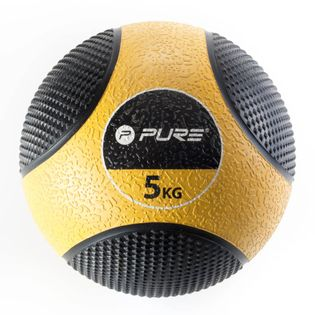 Pure2Improve Piłka lekarska, 5 kg, żółta