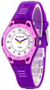 Xonix Uniwersalny zegarek sportowy, wskazówkowy, podświetlenie, alarm, WR 100M
