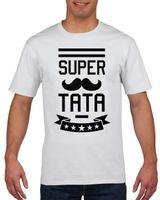 Koszulka męska SUPER TATA DZIEN OJCA M