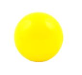 Piłka rusałka do żonglowania - 7 cm - żółta
