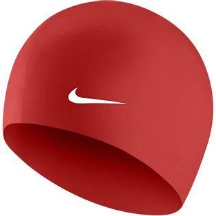 Czepek pływacki Nike Os Solid czerwony 93060-614