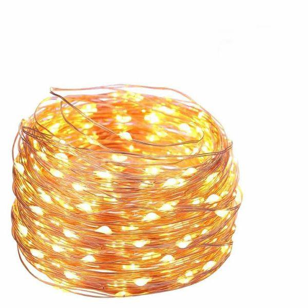 LAMPKI CHOINKOWE OZDOBNE MIKRO 100 LED 11metrów NA PRĄD DRUCIKI zdjęcie 1