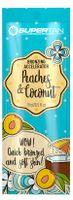 SuperTan Peaches Coconut szybki bronzer aloes x5