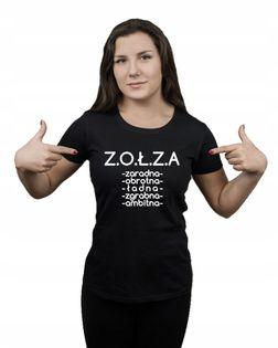 Koszulka damska ZOŁZA CECHY XL