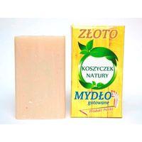 Polmat Naturalne Mydło Roślinne Ze Złotem 100G