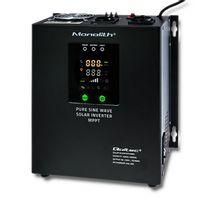 Qoltec Inwerter solarny Pure Sine Wave 1000   20A
