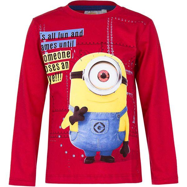 T-Shirt Bluzka Minions 7Y r122 Licencja Illumination (5901854838434) zdjęcie 1