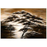 OBRAZ DRUKOWANY  Drzewo snów w brązach 120x80