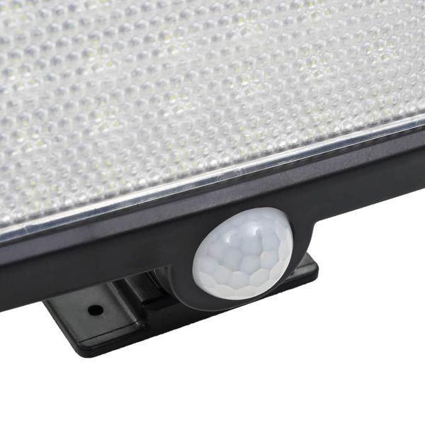 Lampa solarna z czujnikiem ruchu, białe LED zdjęcie 7