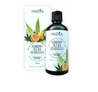 Olejek do masażu cytrusowy 100ml India Cosmetics