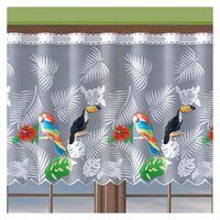 Firanka Papugi wysokość 70 cm - Pokój dziecięcy | WN312P 070