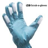 Rękawiczka Czyszcząca ze Szczoteczkami Scrub-a-Gloves (2 sztuki)