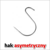 Hak wędzarniczy asymetryczny typu S