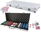 Zestaw do gry w pokera 500 żetonów walizka U41