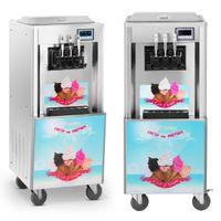 Maszyna do lodów włoskich - 33 l/h - 3 smaki Royal Catering RCSI-33-3