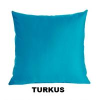 Poszewka Satynowa na Poduszkę 70x80 TURKUS
