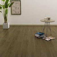 Samoprzylepne Panele Podłogowe, 4,46 M², 3 Mm, Pvc, Brązowe