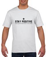 Koszulka męska STAY POSITIVE M