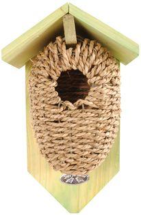 Domek, budka lęgowa dla ptaków z trawy morskiej
