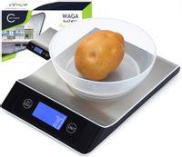 Waga kuchenna Wyświetlacz LED elektroniczna do 5kg O189