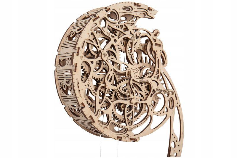 WAHADŁO PENDULUM Mechaniczne Puzzle 3D Drewniane Wooden City zdjęcie 2