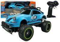 Auto Zdalnie Sterowane R/c Beetle 6.5 Km/h Niebieskie 2.4G