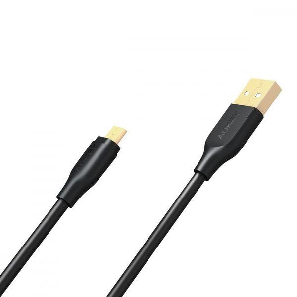AUKEY CB-MD1 Black szybki kabel Quick Charge micro USB-USB   1m   5A   480 Mbps zdjęcie 3