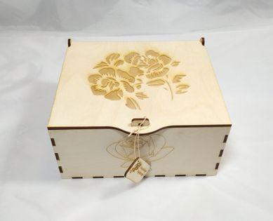 Szkatułka duża ,kuferek, pudełko