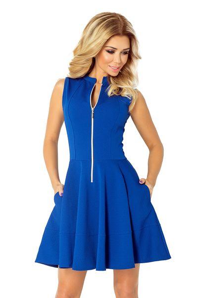 03f3e7a89a 123-1 Sukienka z ekspresem i kieszonkami CHABER S zdjęcie 1 ...