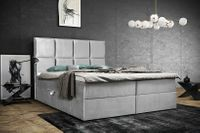 Łóżko kontynentalne PREMIUM panelowe 160