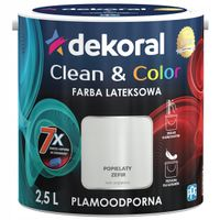 Dekoral Clean & Color 2,5L POPIELATY ZEFIR