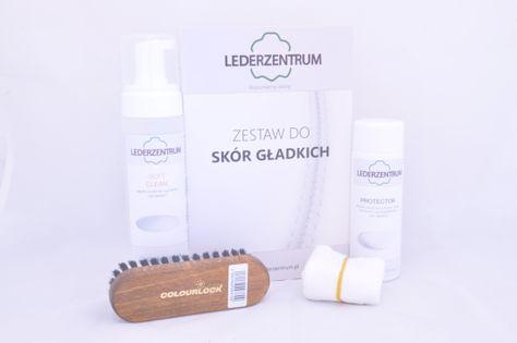 Zestaw do czyszczenia skór gładkich Lederzentrum