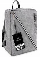 Torba podróżna plecak do samolotu ZAGATTO port USB